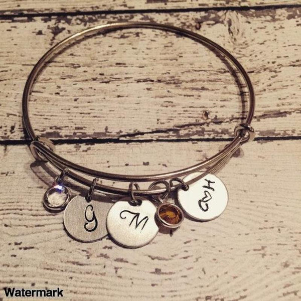 Mother's jewelry - Couples Initials- Name bracelet - Voiceopin International: Child Abuse Information & Online Shopping Center