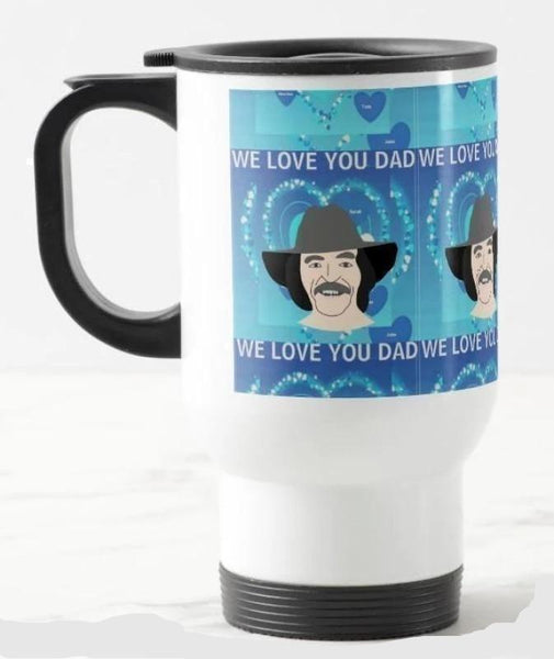 Mug-Dad, We Love You You'll Cherish Love Mug - Voiceopin International: Child Abuse Information & Online Shopping Center