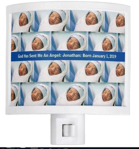 Night Light-God Has Sent Me An Angel - Pampered Prince Boy or Adorable Toddler Boy You'll Cherish Love Night Light - Voiceopin International: Child Abuse Information & Online Shopping Center