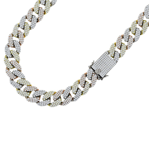 STALLION 18 MM Tricolor Cuban Chain | 9615552 - Voiceopin International: Child Abuse Information & Online Shopping Center