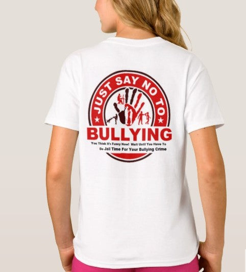 T-Shirt And Tank Top-Afraid To Stop Being A Bully Just Say To No Bullying You'll Cherish Love T-Shirt And Tank Top