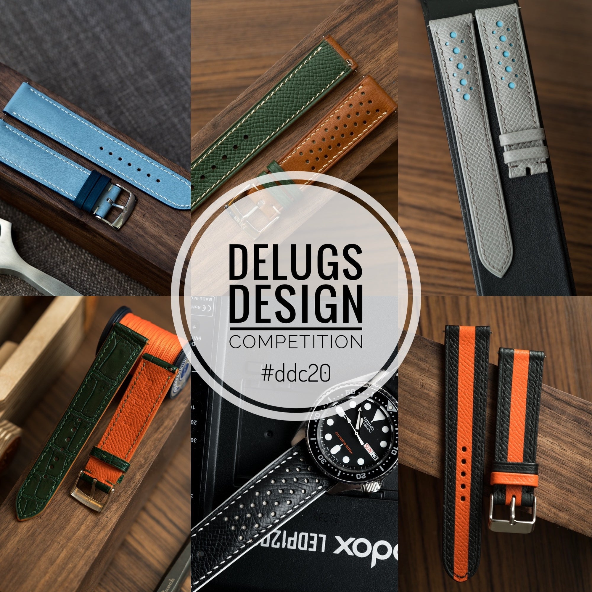 Stay Home and Design A Strap: Delugs Design Competition 2020