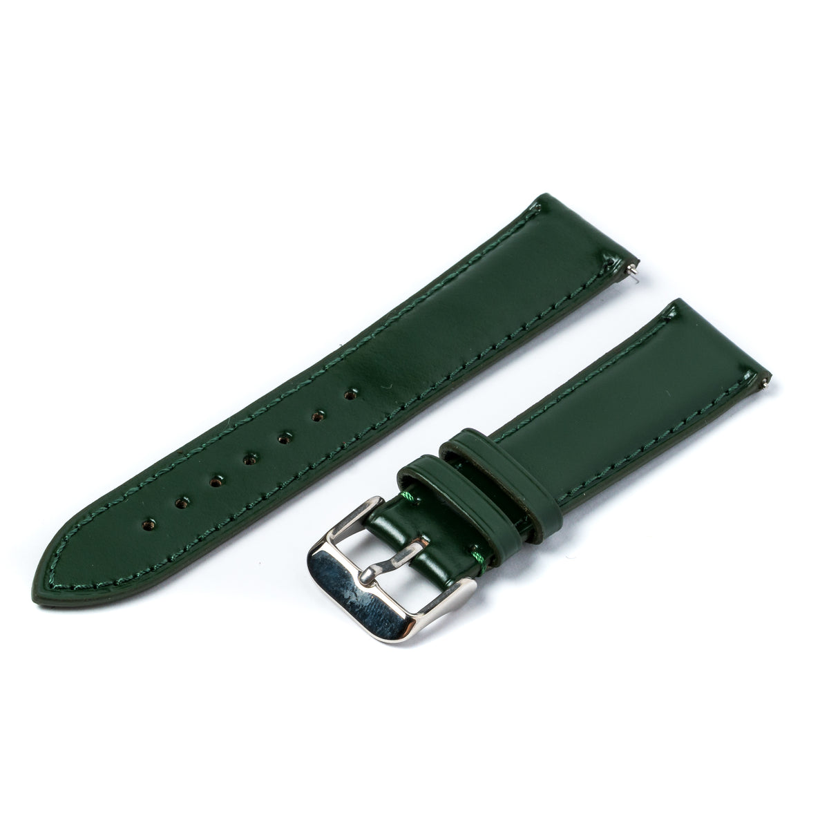 Green Shell Cordovan Signature Watch Strap v1 (Discontinued)