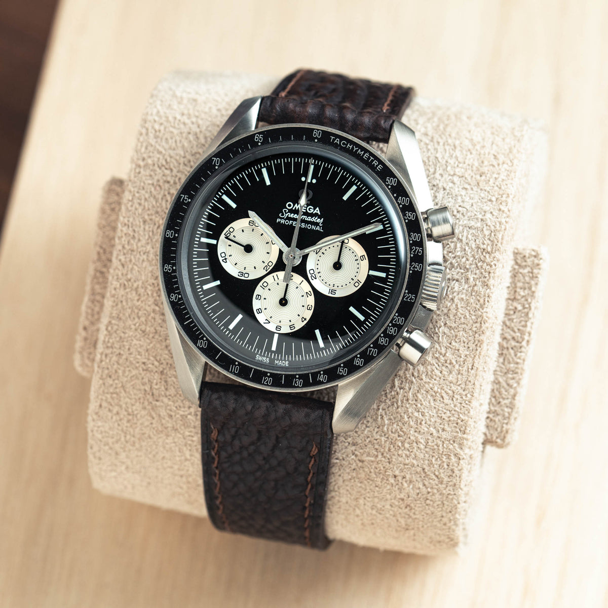 Dark Brown Shark Slim Strap