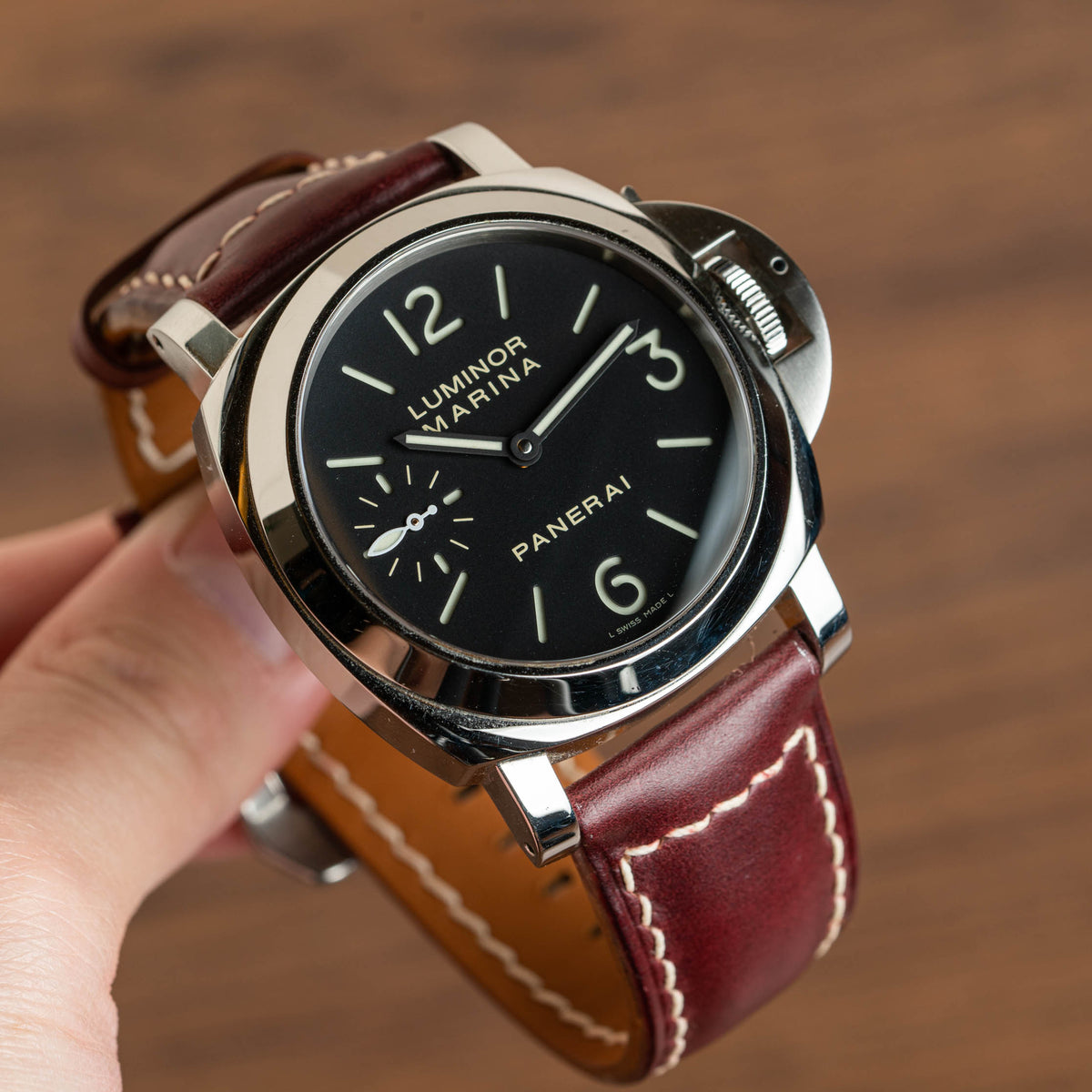 Color 8 Chromexcel Chunky Signature Strap (Panerai)