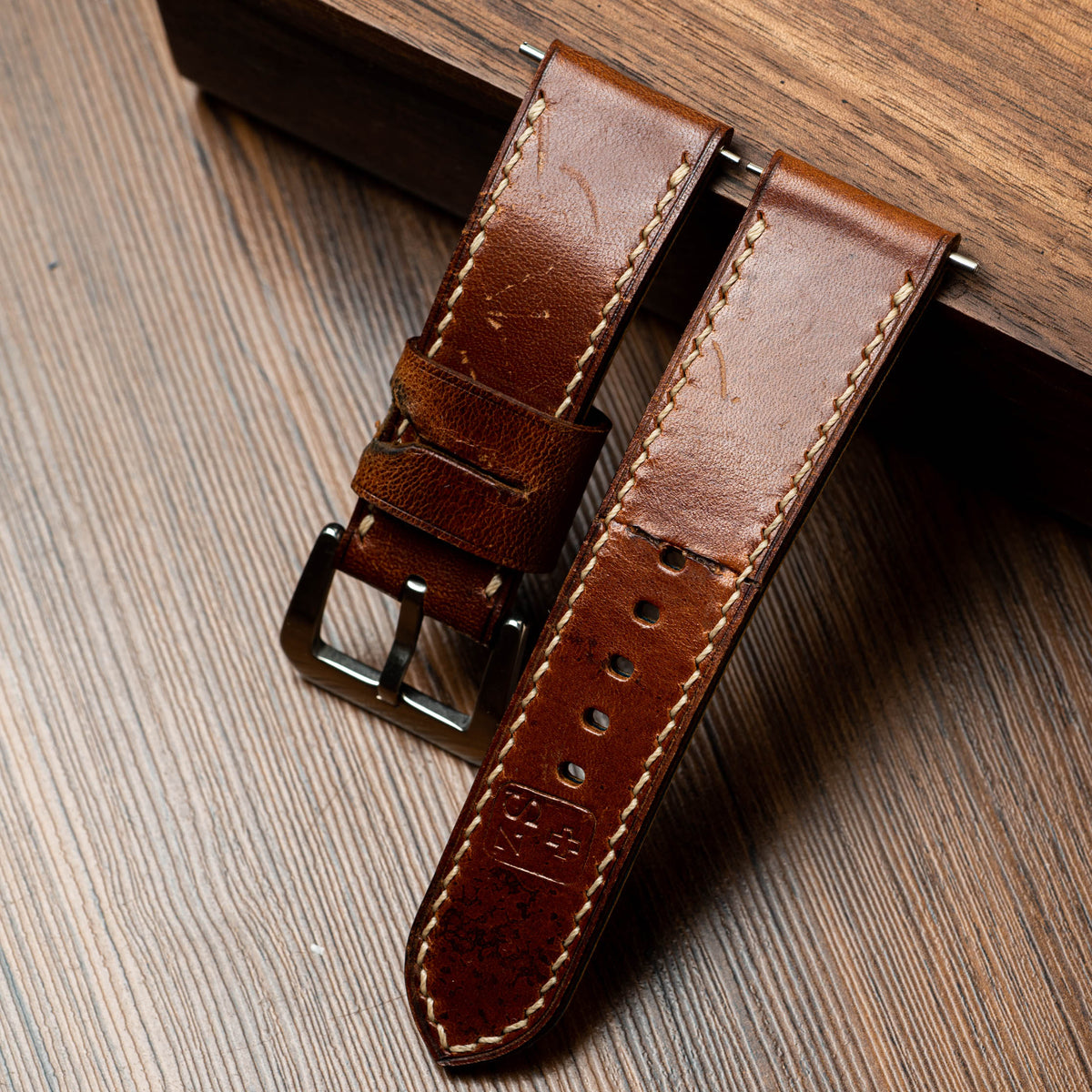 Ammo Leather Chunky Strap