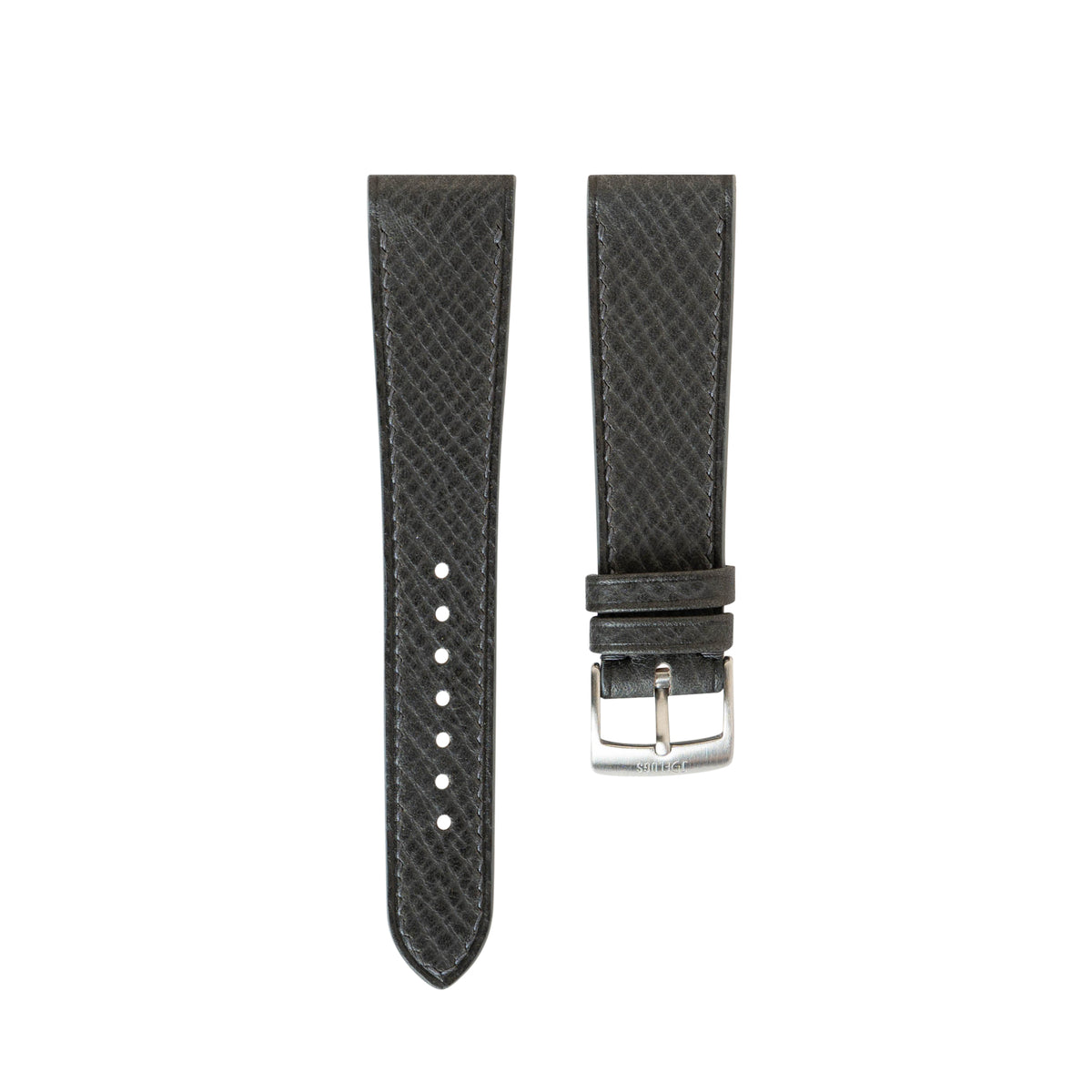 Chicago Blue Russian Hatch Grain Slim Strap