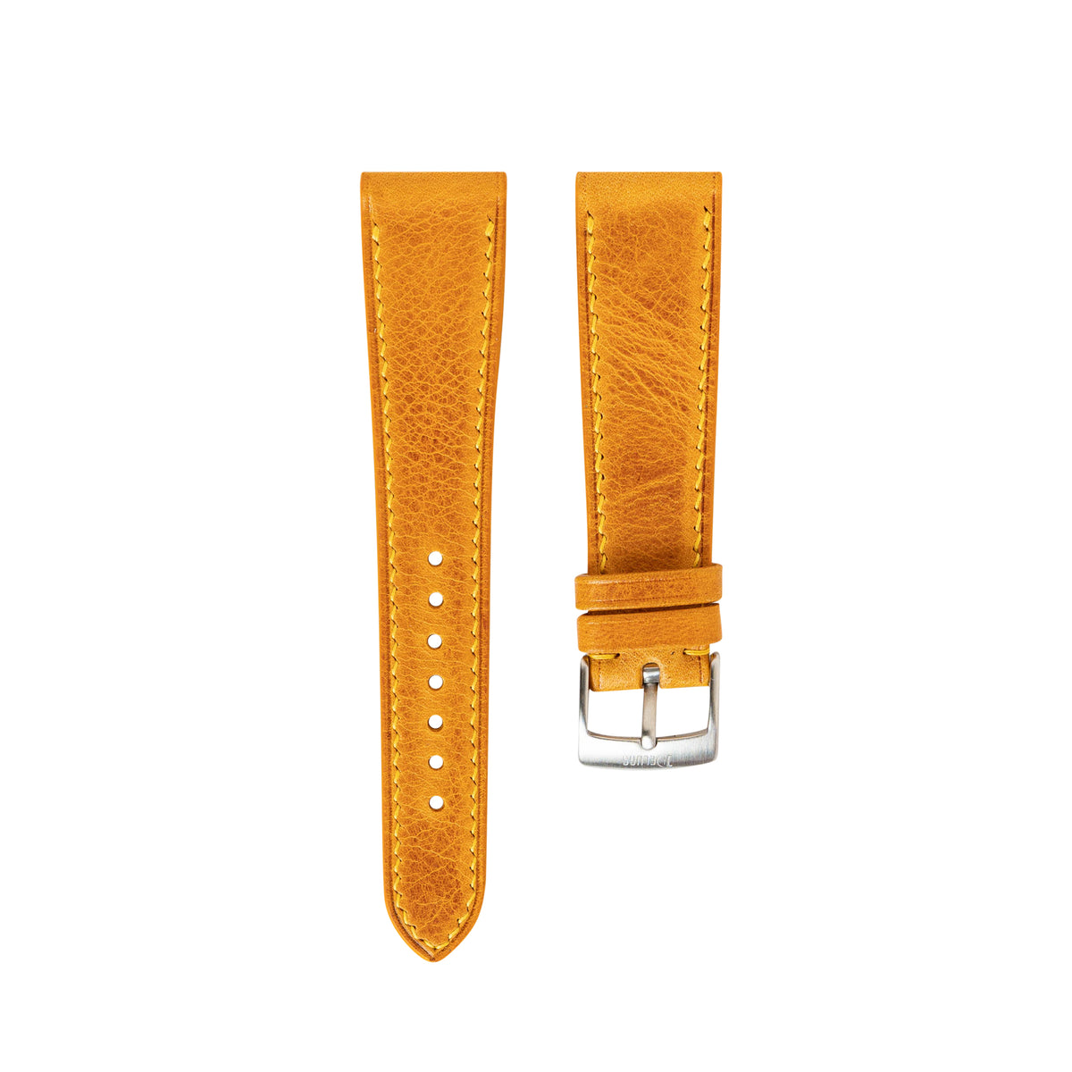 Yellow Waxy Slim Strap