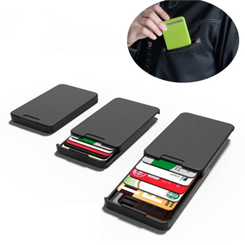 Ingenious Black Wallet with RFID Blocking
