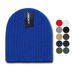 73375ccccc7f97 1 Dozen Decky Beanies Cable Knit Cap Hat Ski Warm Winter Unisex Wholesale  Bulk