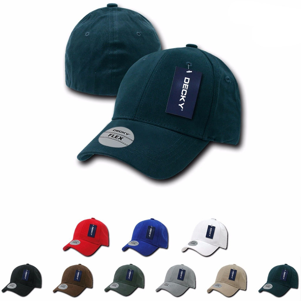 7fb64d7bad8 1 Dozen Decky Fitall Flex Fitted Baseball Dad Caps Hats Wholesale Lots