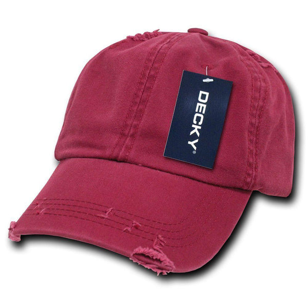 da40f548d81 1 Dozen Decky Vintage Frayed Washed Vintage Polo Dad Hats Caps 6 Panel –  Casaba Shop