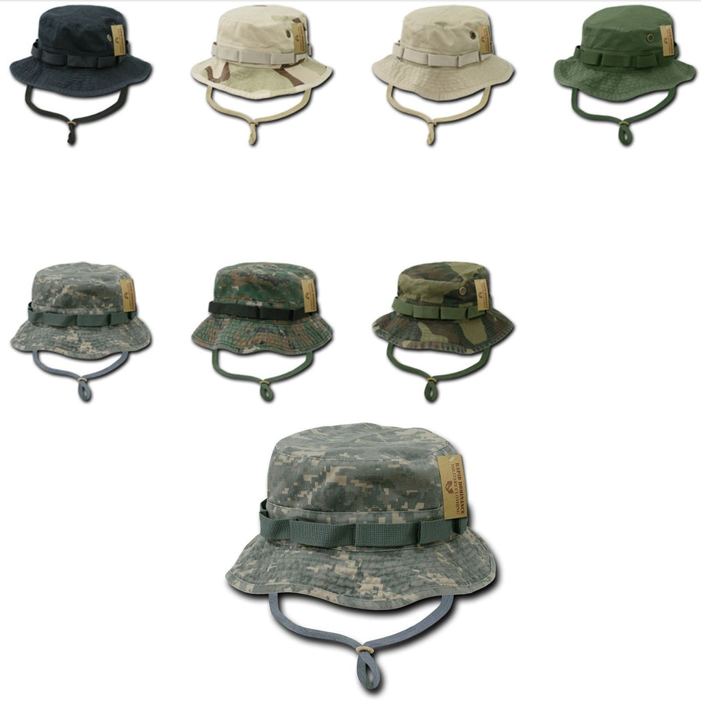 Rapid Dominance 1 Dozen Od Boonie Bucket Military Fishing Hunting Caps Hats Wholesale Lots