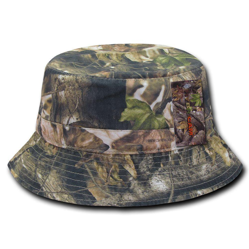 1 Dozen Relaxed Camouflage Hybricam 100% Cotton Bucket Hats Wholesale Lots