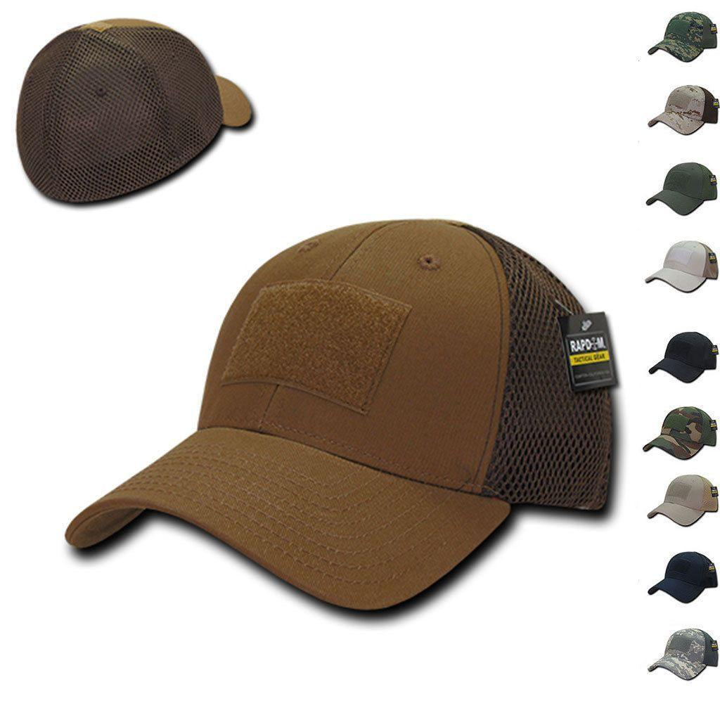 9c8cc9537 1 Dozen Tactical Military Air Mesh Flex Low Crown 6 Panel Caps Cap ...