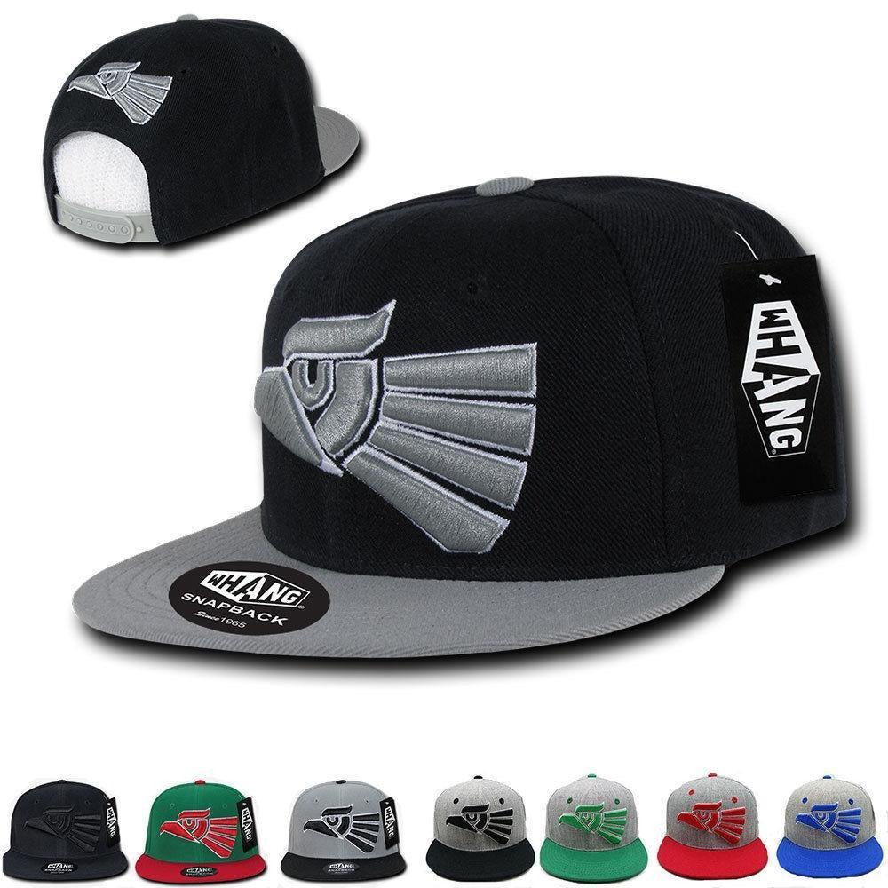 1 Dozen Whang Snapbacks Mexico Mexican Eagle 6 Panel Hats Caps