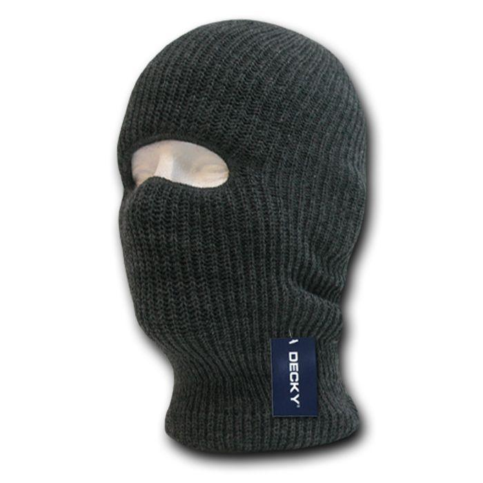 Decky 1 Hole Facemask Face Mask Tactical Beanies Balaclava Army Military Skiing Biker