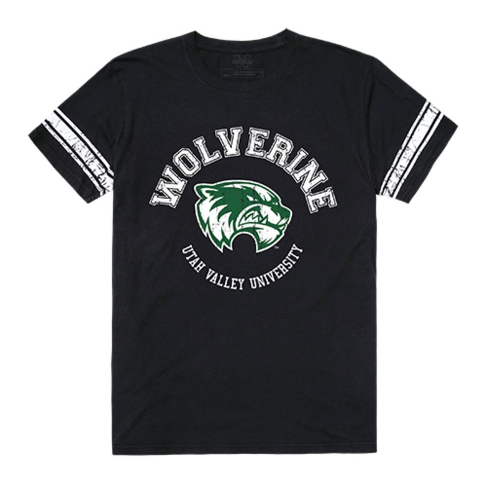 Utah Valley University Wolverines NCAA Men's Football Tee T-Shirt