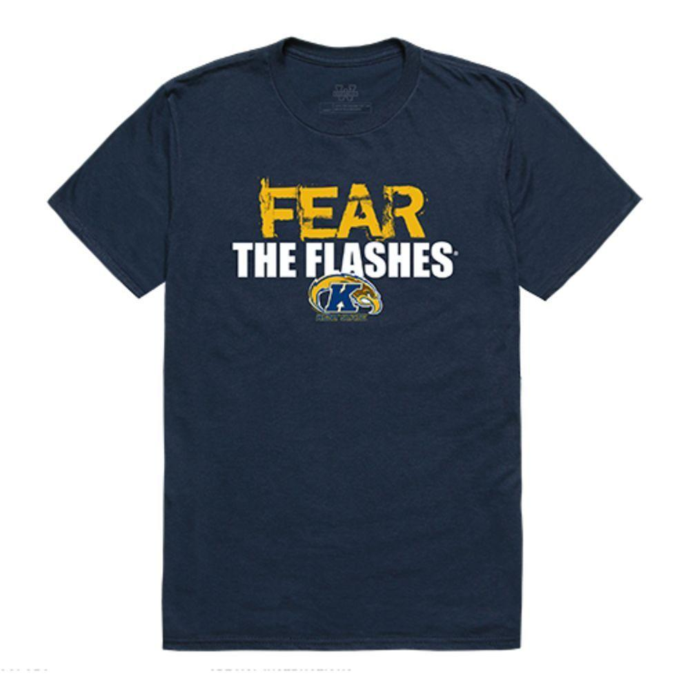Kent State University The Golden Eagles NCAA Fear Tee T-Shirt