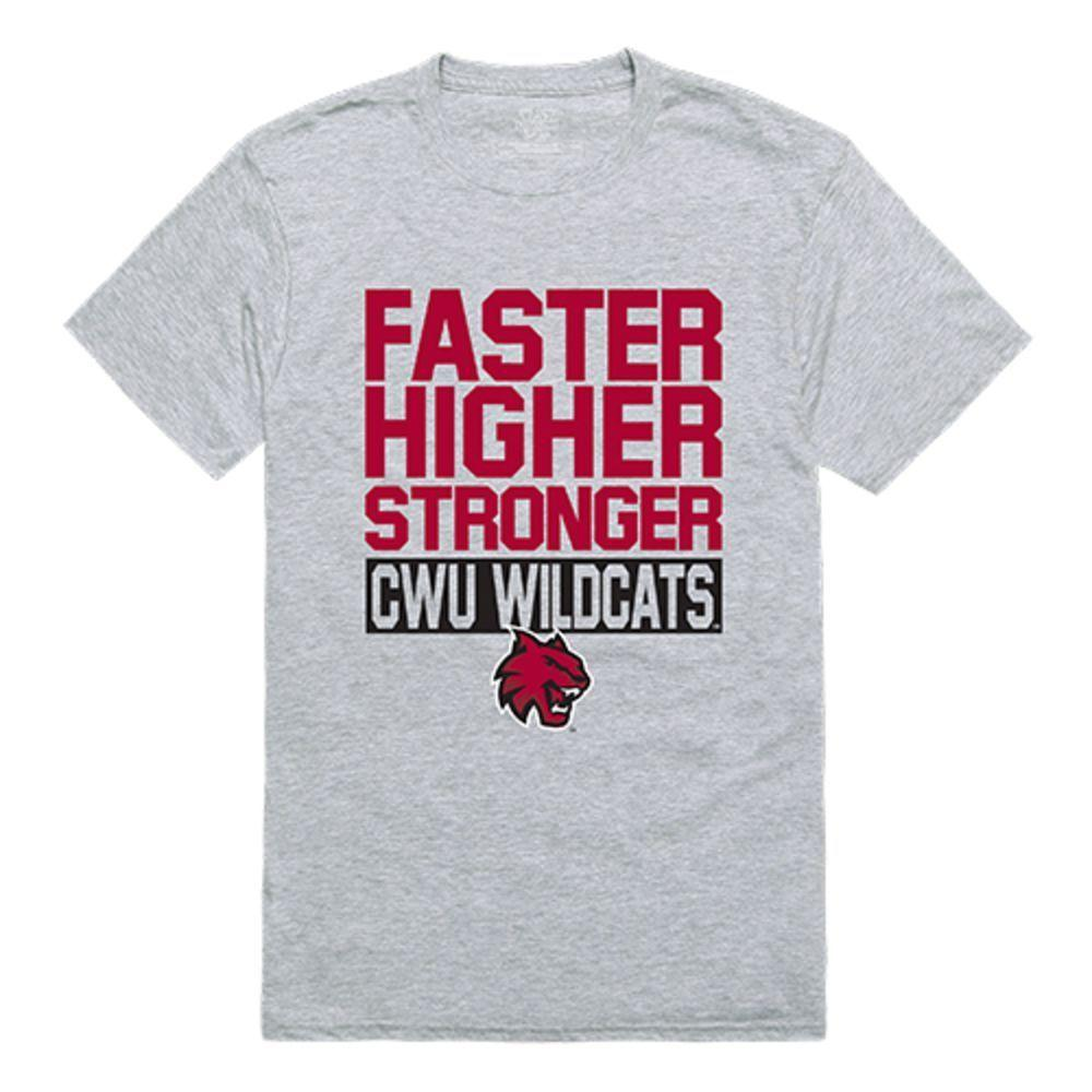 Central Washington University Wildcats NCAA Workout Tee T-Shirt