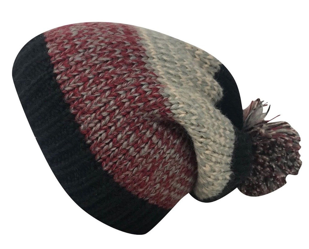 Casaba Festive Warm Winter Beanies Toboggan Pom for Men Women Thick Caps Hats