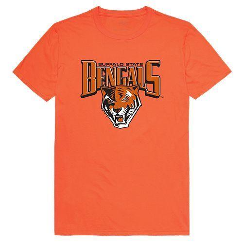 Buffalo State College Bengals NCAA Freshman Tee T-Shirt Orange