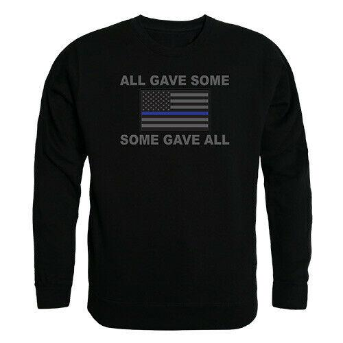 RAPDOM Tactical All Gave Some Gave All Crewneck Fleece Sweatshirts