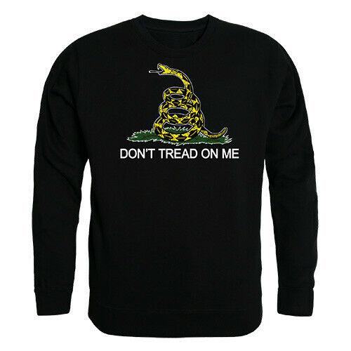 RAPDOM Tactical Don't Tread On Me Crewneck Fleece Sweatshirts