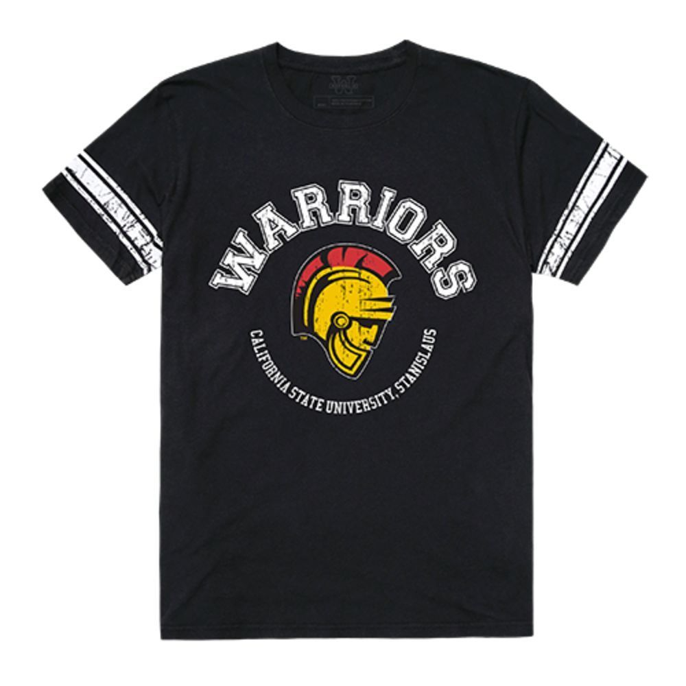 California State University Stanislaus Warriors NCAA Mens Football Tee T-Shirt