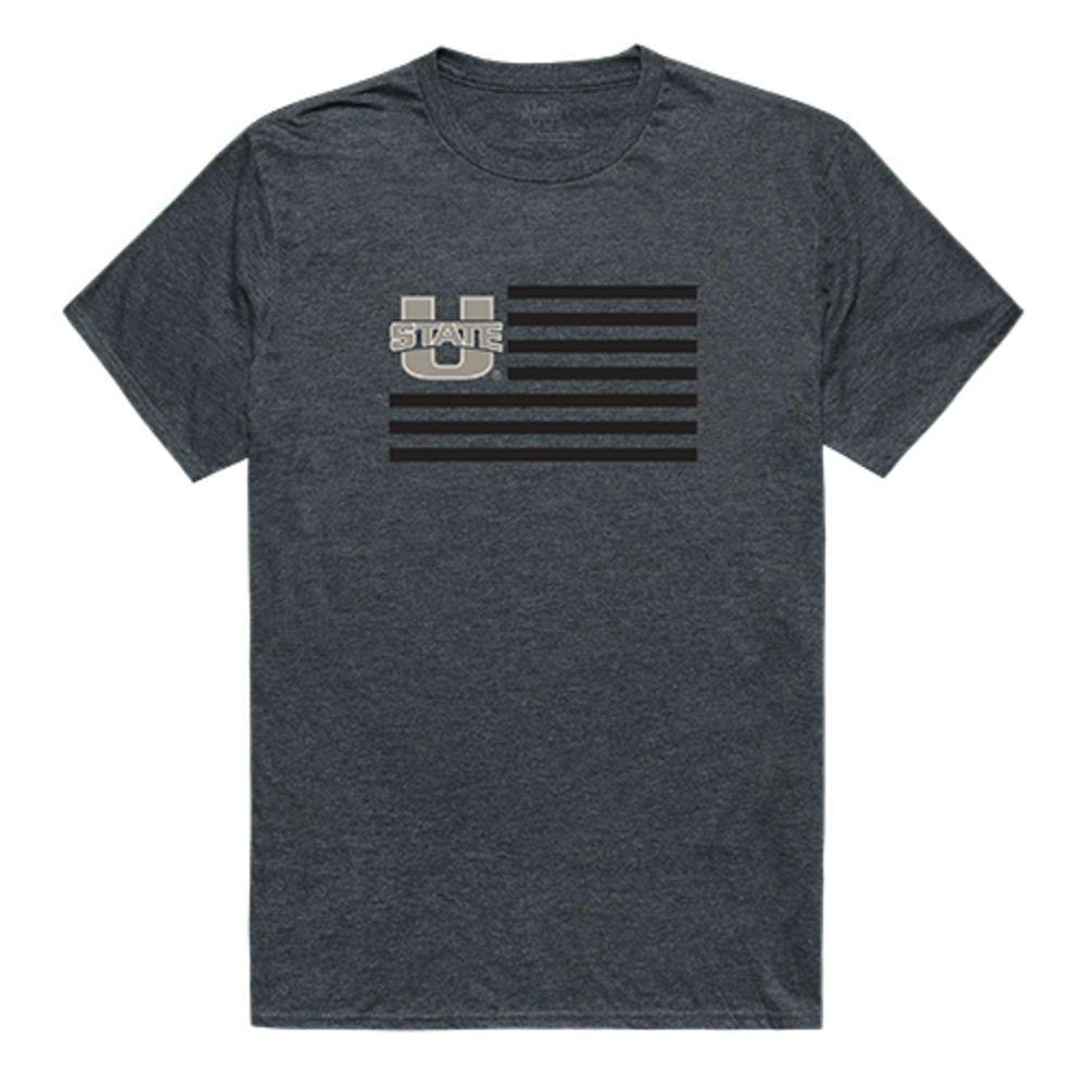 Utah State University Aggies NCAA Flag Tee T-Shirt