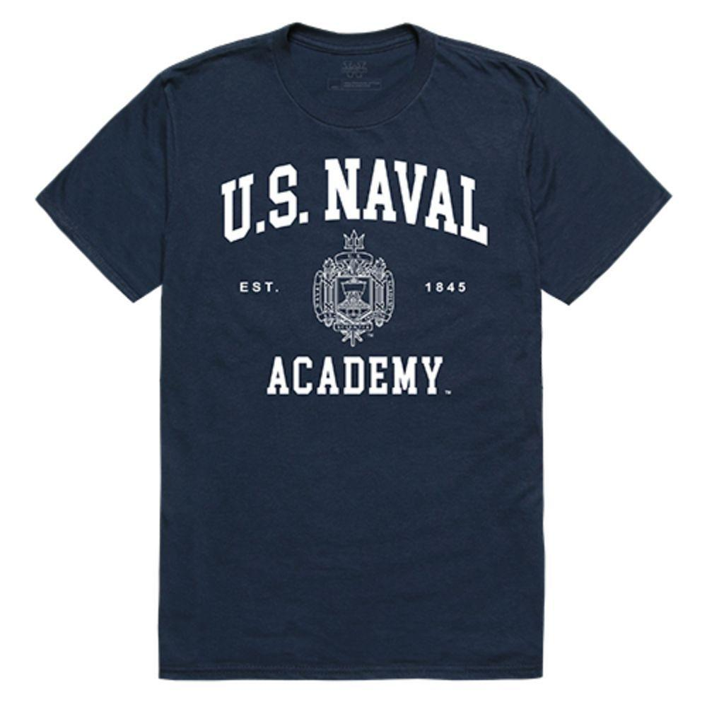 United States Naval Academy Midshipmen NCAA Seal Tee T-Shirt