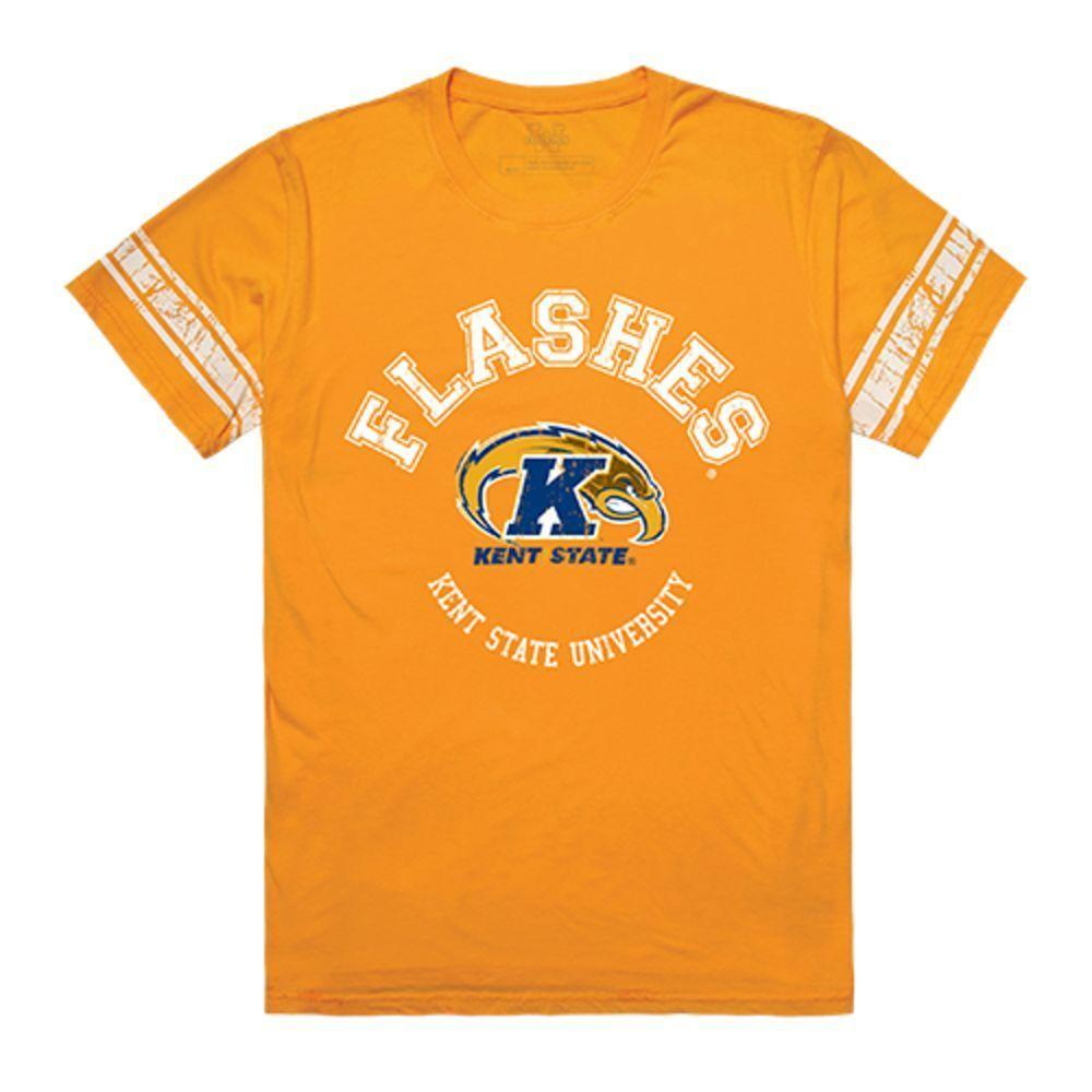 Kent State University The Golden Eagles NCAA Men's Football Tee T-Shirt Gold
