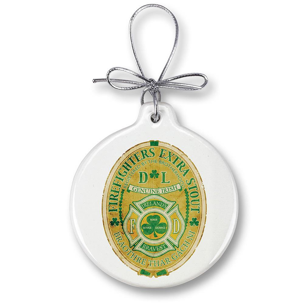 Firefighter Irelands Bravest Christmas Tree Ornaments