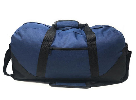 47a44bcba1f3 30 Lot Large 21inch Duffle Bags Two Tone Work Travel Sports Gym Carry-On Luggage  Wholesale Bulk