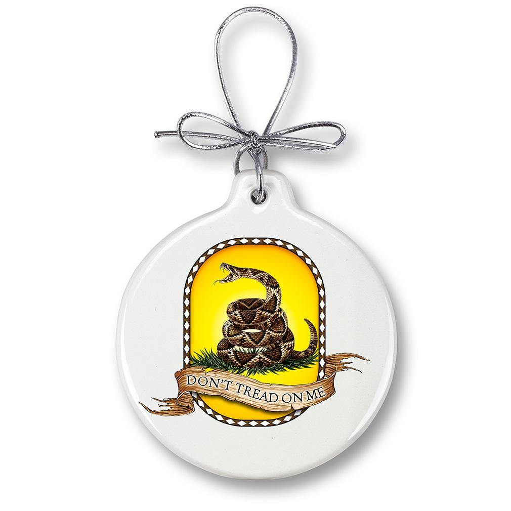 Don't Tread On Me Christmas Tree Ornaments