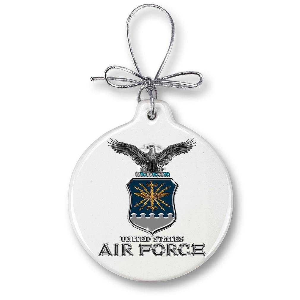 Air Force USAF Missile Christmas Tree Ornaments