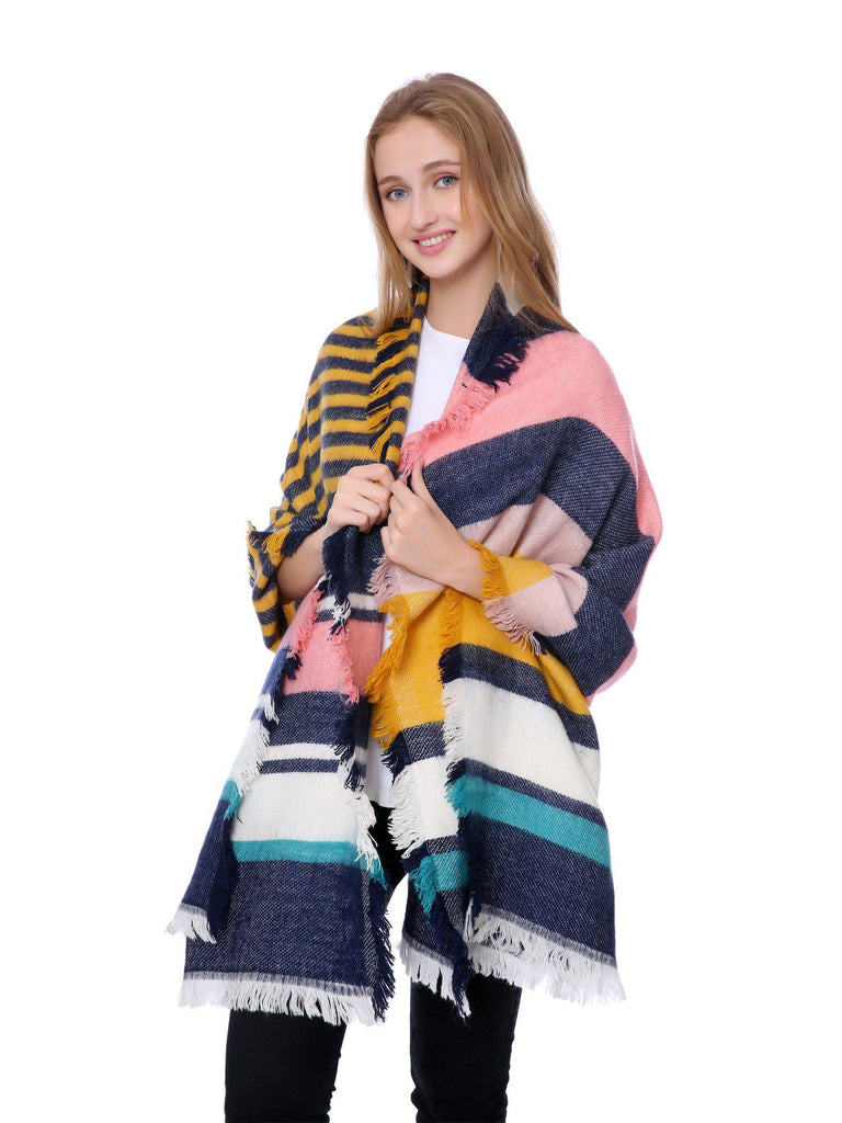 Casaba Stylish Blanket Scarves Wraps Shawls Heavy Warm for Winter Womens Mens Unisex