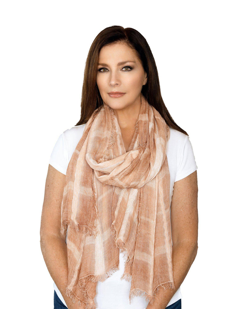 Casaba Womens Cotton Classy Sheer Scarves Scarf Shawls Light Wrap