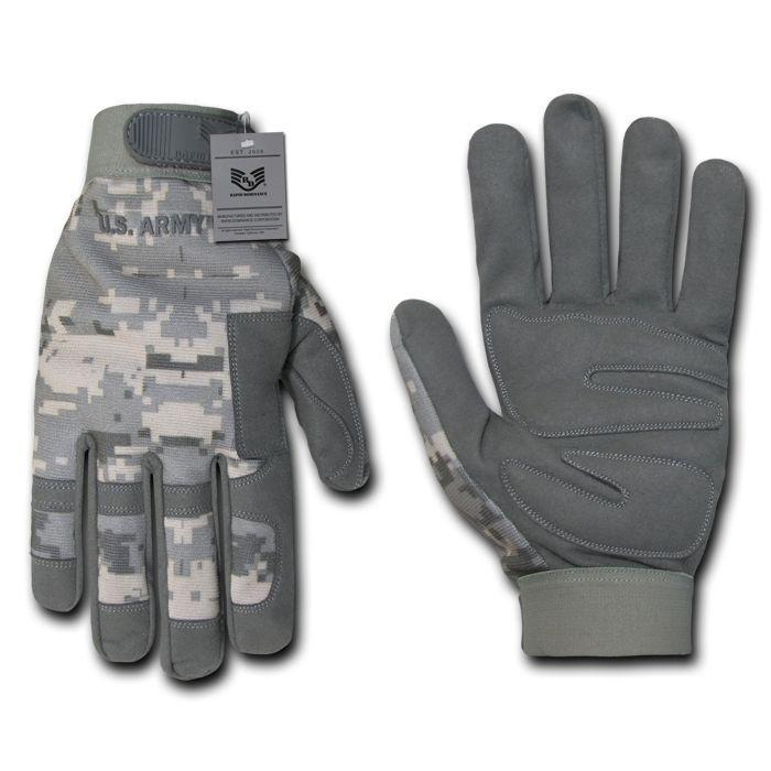 Acu Universal Digital Grey Camouflage US Army Tactical Hunting Gloves