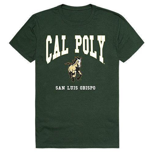 Cal Poly California Polytechnic State Uni Mustangs NCAA Athletic Tee T-Shirt