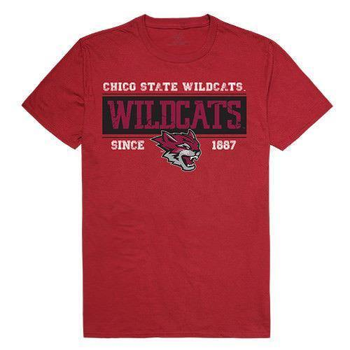 California State University Chico Wildcats NCAA Established Tees T-Shirt