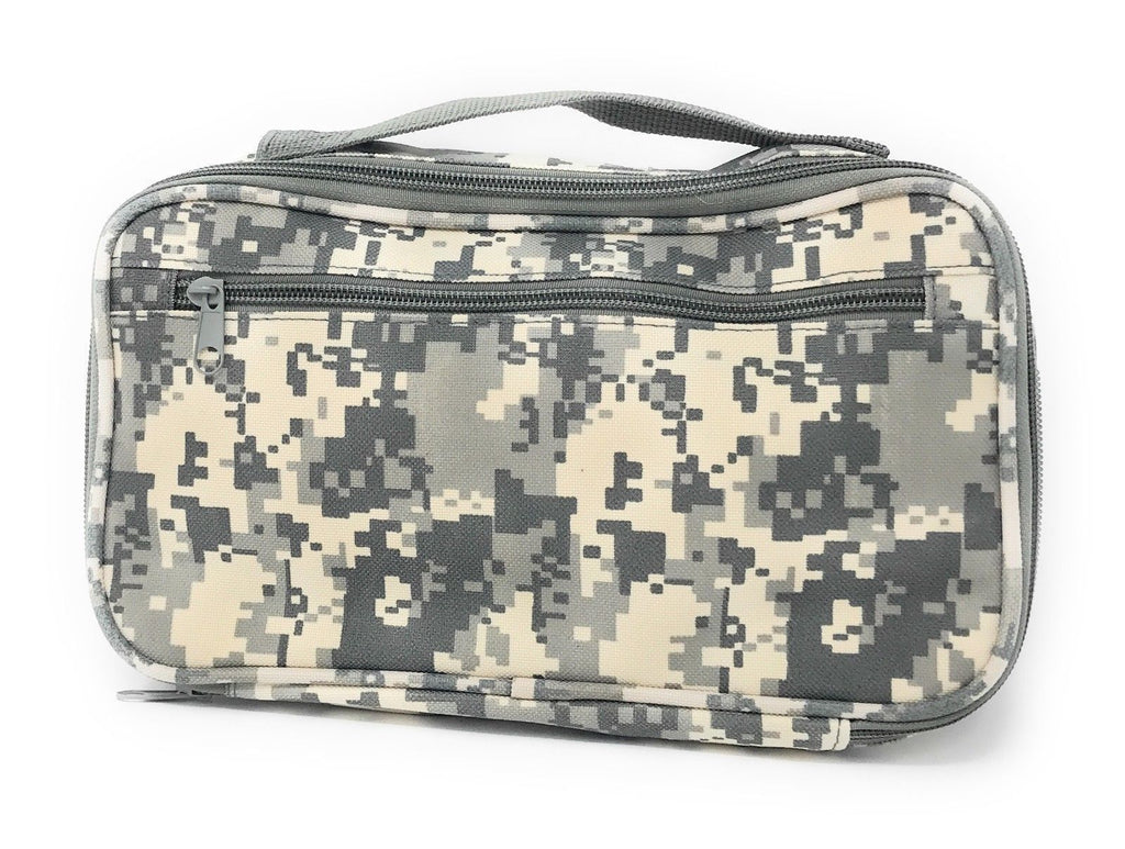 Camo Army Military Travel Kit Organizer Accessories Bathroom Cosmetics Toiletry Pouch Bag