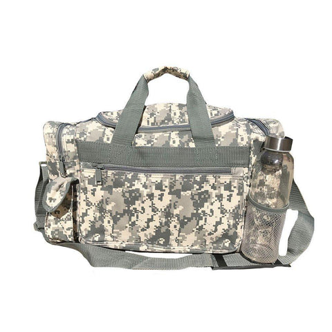b5b0746aa9b0 18inch Camo Camouflage Army Duffle Bags Military Acu Sports Gym Travel Carry -On