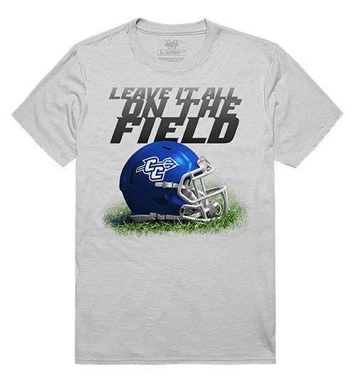 Central Connecticut State University Blue Devils NCAA Gridiron T-Shirt