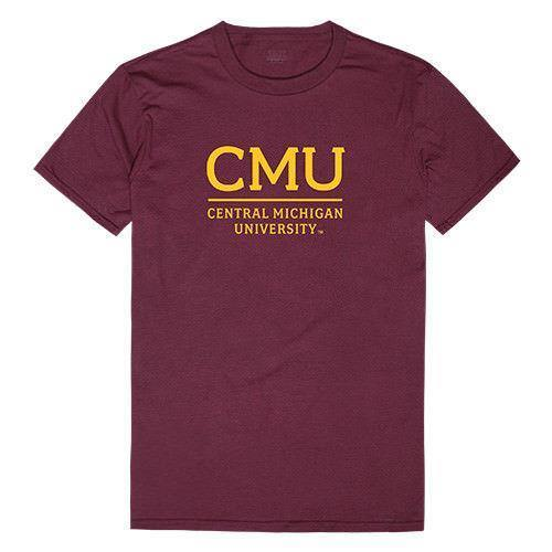 Cmu Central Michigan University Chippewas NCAA Institutional Tee T-Shirt