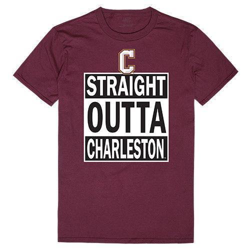 College Of Charleston Cougars NCAA Straight Outta T-Shirt