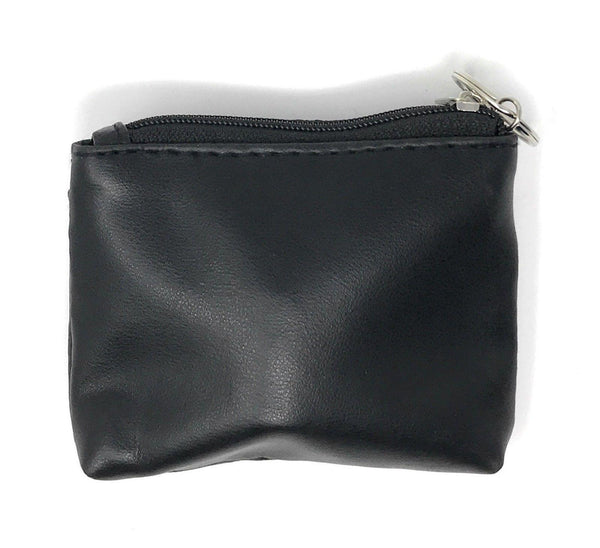 89299a8e95dc Compact Coin Pouch Wallet Change Holder Purse Bag Insert With Keychain –  Casaba Shop