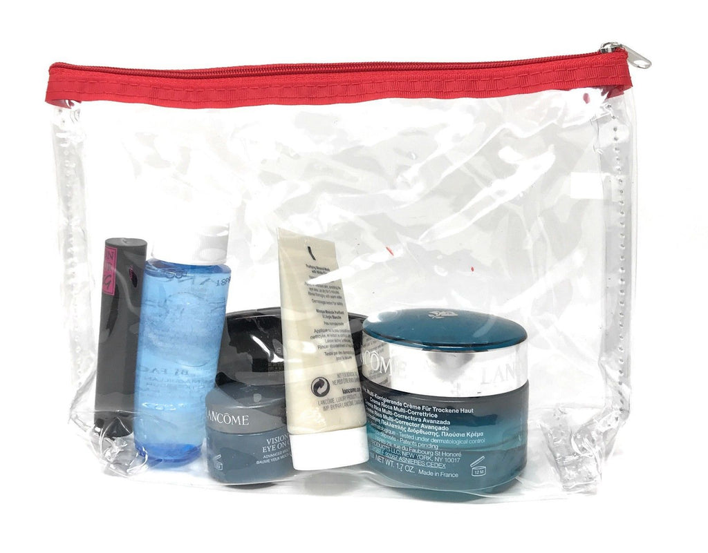 TSA Friendly Unisex Toiletry Clear Cosmetics Pouch Bags Travel Airport Security