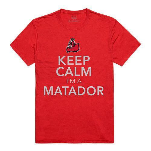 Csun California State University Northridge Matadors NCAA Keep Calm T-Shirt