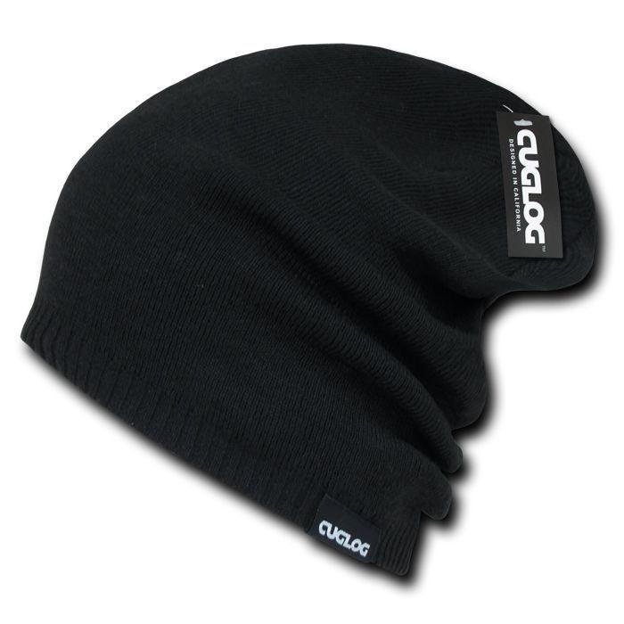 Cuglog Slouch Baggy Skater Surfer Hipster Beanies Thick Long Fit Caps Hats